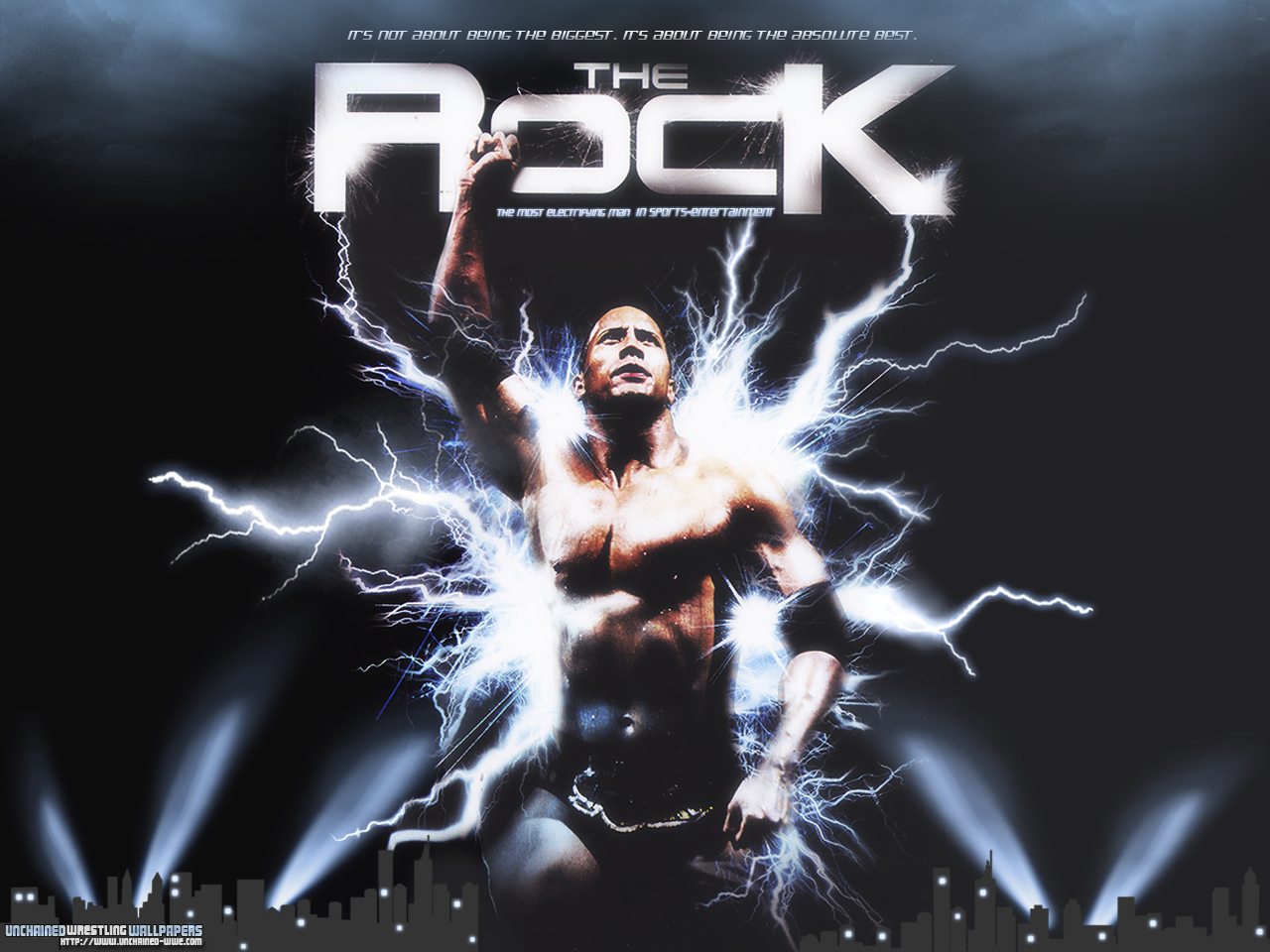 Therock Wallpaper Electrifying