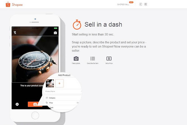 Shopee Mobile Marketplace For Buyer & Seller, Shopee Mobile Marketplace, Shopee Malaysia, Buyer & Seller, Shopee Mobile App