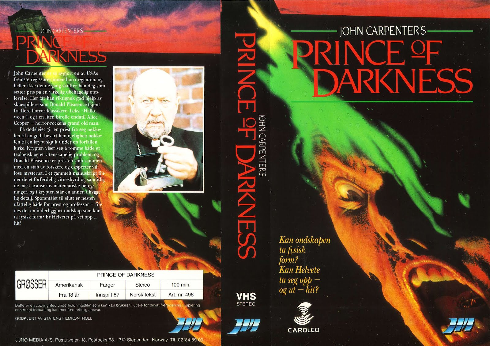 Jameson Parker Prince Of Darkness Happyotter: PRINCE OF ...