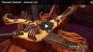 Impressionante! Instrumento musical toca sozinho em mais de 30 cordas!
