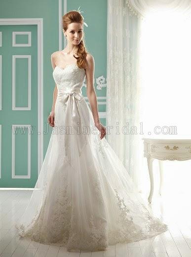 Vestidos de novia para chaparritas y delgadas