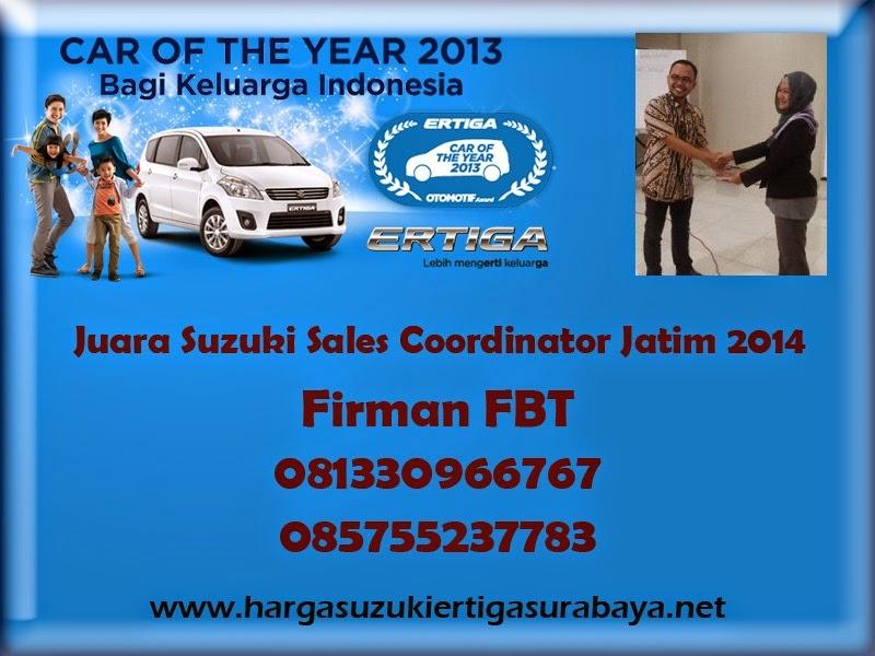 Harga OTR Suzuki Ertiga UMC Dan SBT Surabaya Sidoarjo Bangkalan Pamekasan Tlp Firman FBT 085755237783