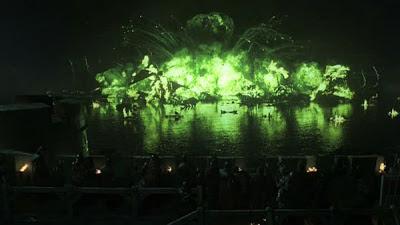 explosión fuego valyrio batalla aguasnegras - Juego de Tronos en los siete reinos