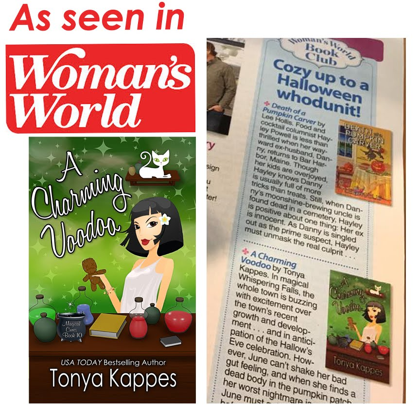 Woman's World Magazine Book Club pick!