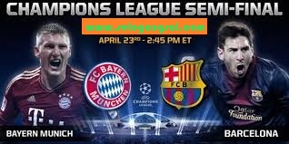 Video Hasil Bayern Munchen vs Barcelona 24 April 2013