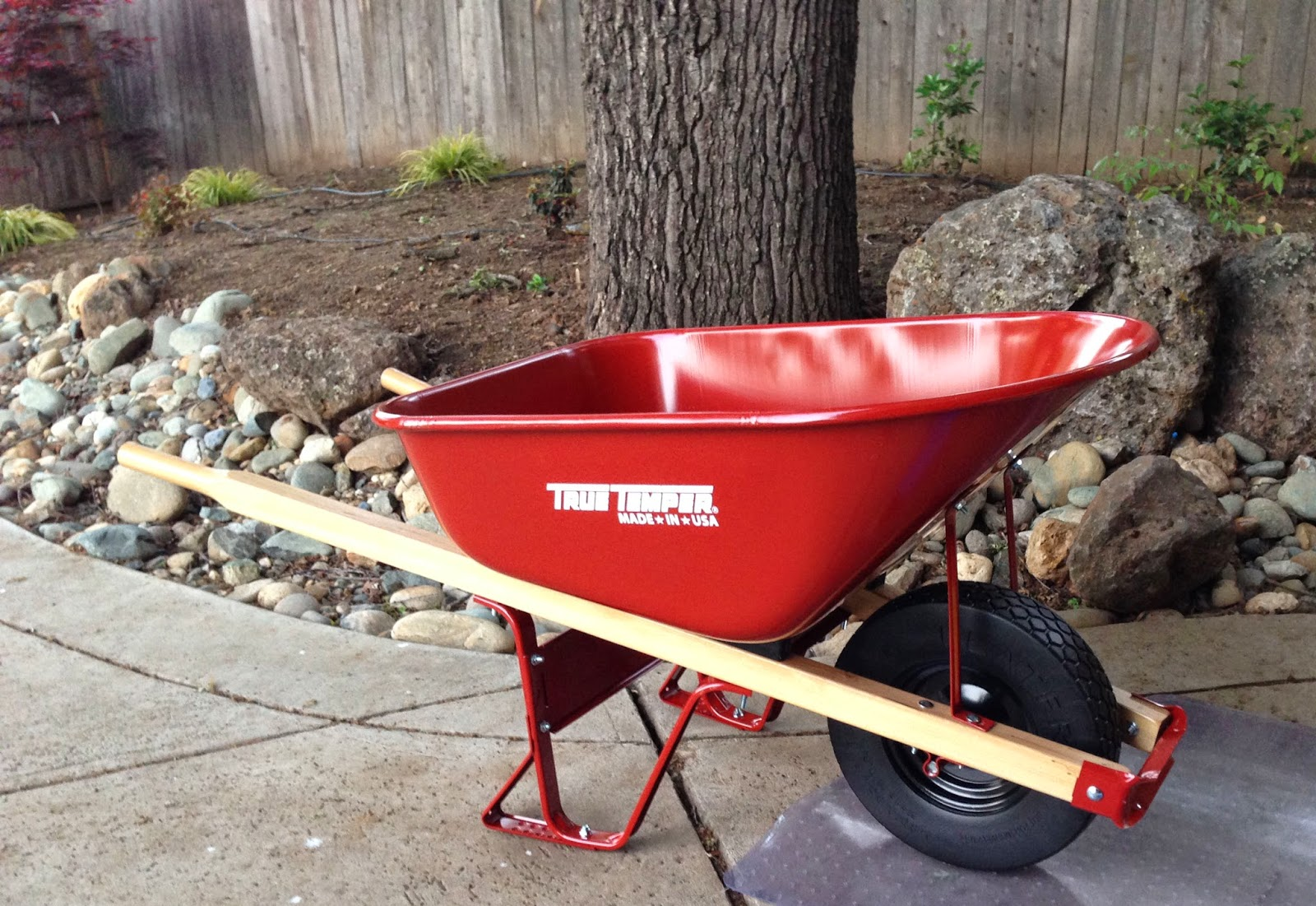 #100HappyDays: If loving a wheelbarrow is wrong…