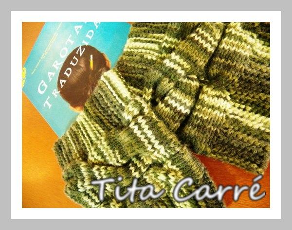 Polainas\Boots cuffs verdes e a garota traduzida