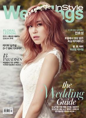 Hyosung SECRET - InStyle Weddings Magazine July Issue 2015