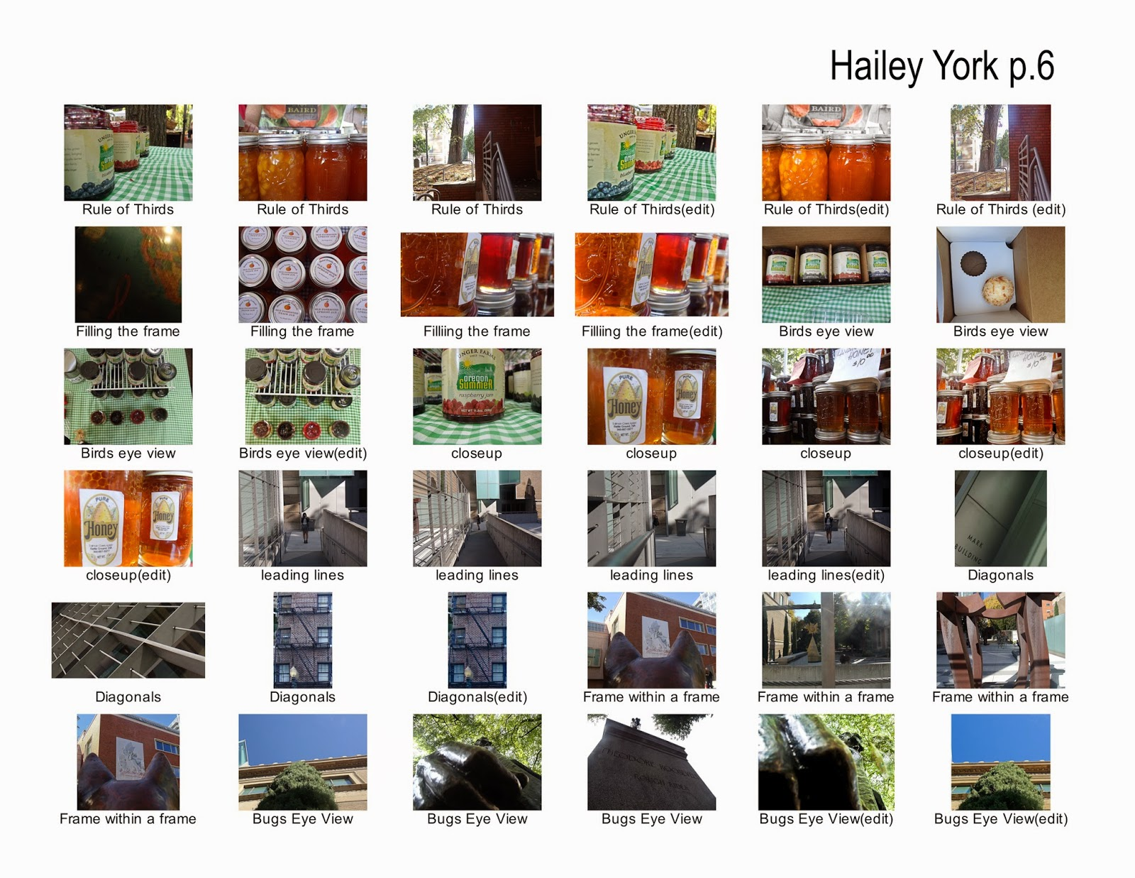Hailey York- photography: Project 2- Framing and Composition