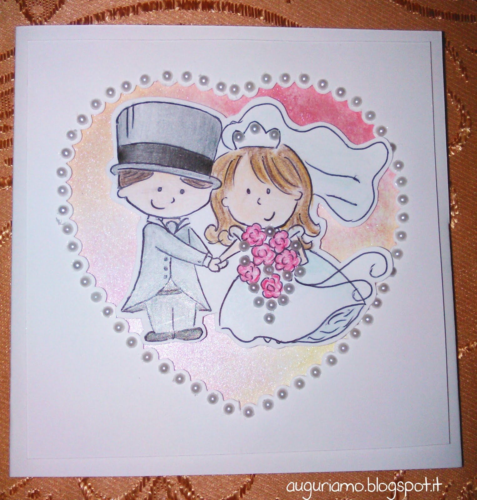 Auguri Matrimonio Vi Auguriamo : Favoloso biglietti auguri matrimonio fatti a mano mu