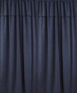 Cortinas de jean con faldon el m2 $ 60