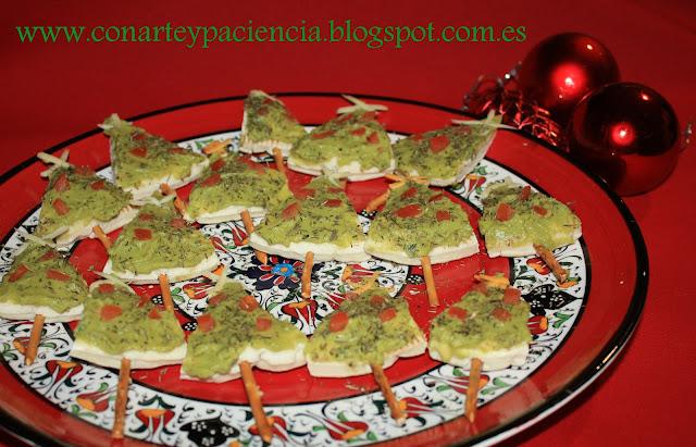 Arbolitos de navidad Con Arte y Paciencia