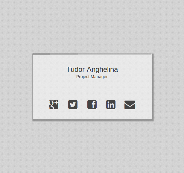 Single page html5 css3 business card template 20 red templatedemo reheart Images