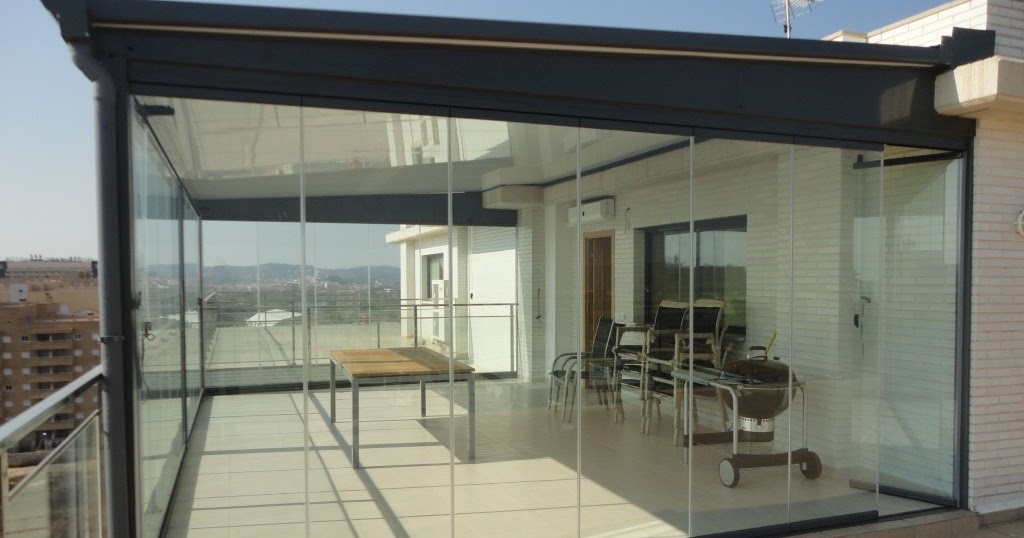 Tipos de cerramientos para terrazas cerramientos en for Remate de terrazas