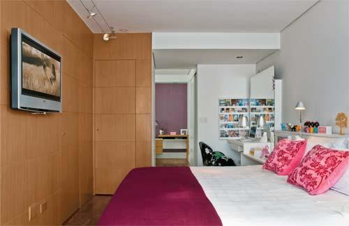 decoracao de interiores quartos de solteiro : decoracao de interiores quartos de solteiro:Alessandra Salibe
