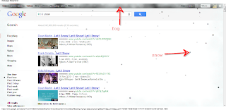 let it snow in google