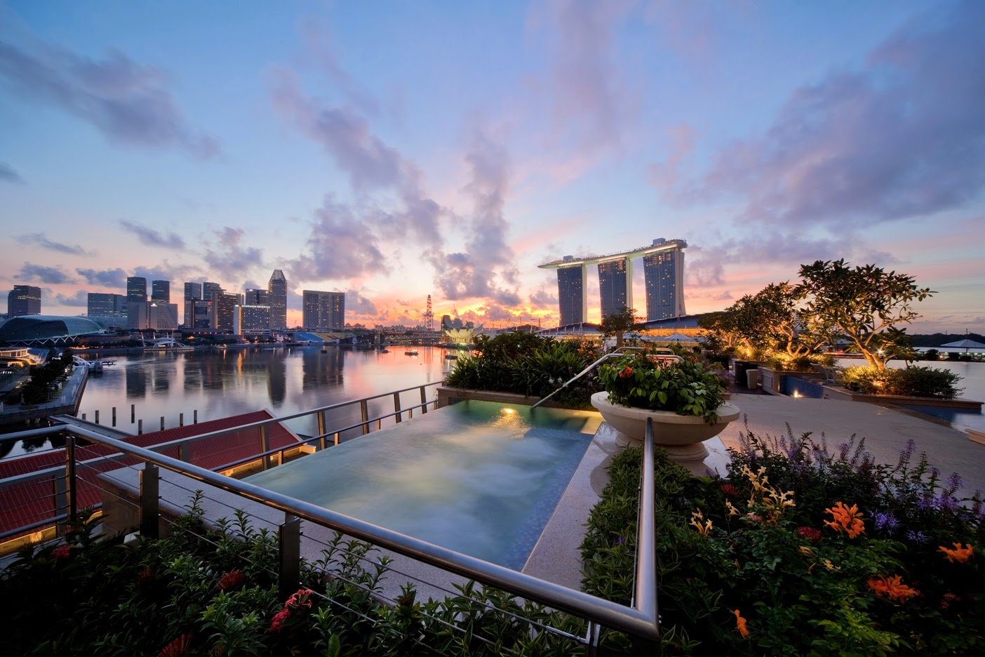 Experience serenity in the city at the luxurious 5-star Fullerton Bay Hotel,  located on the Marina Bay Waterfront in the heart of Singapore's Central ...