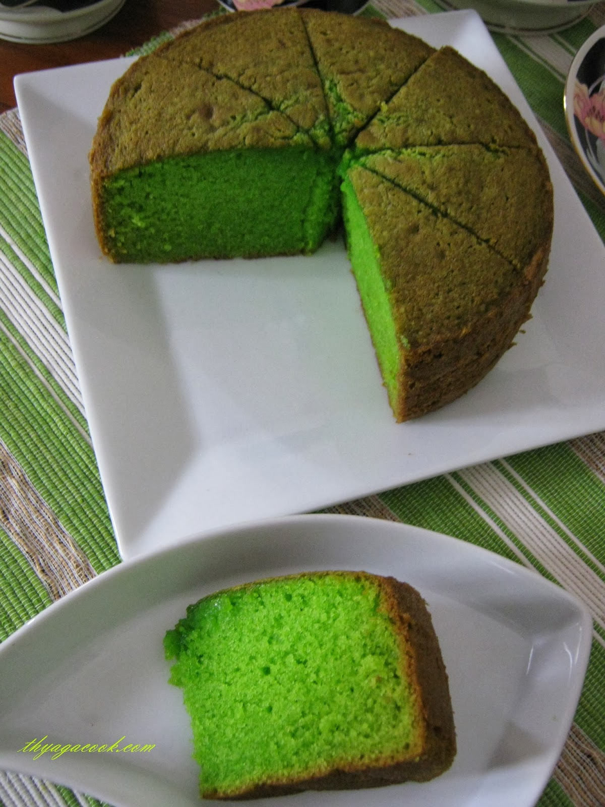 how to make malaysian pandan cake