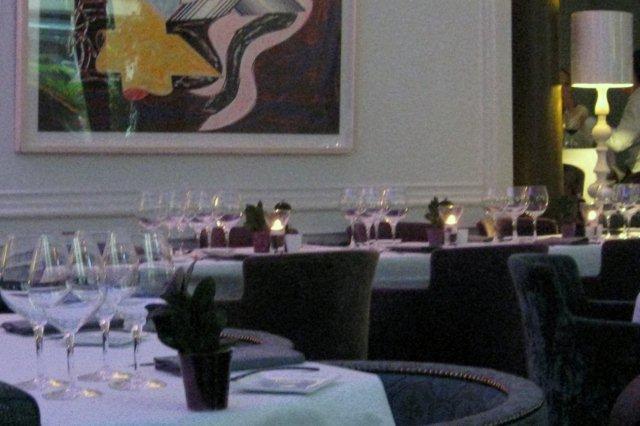 Comedor del Restaurante Les Enfants Terribles en Paris