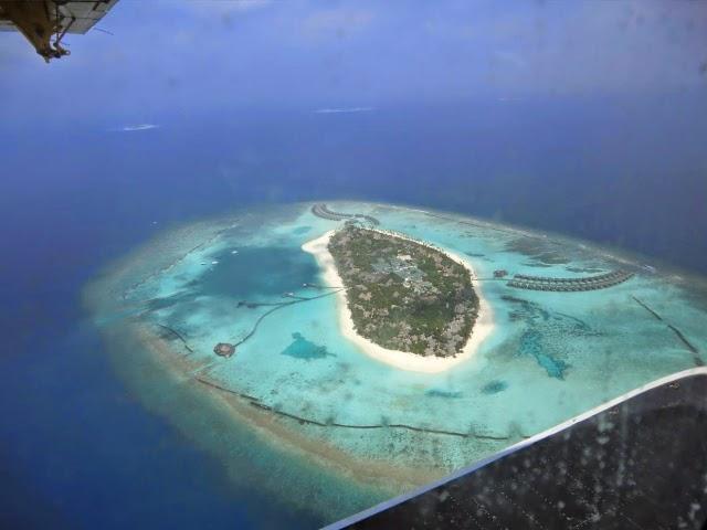 Остров-Мальдив-Сверху
