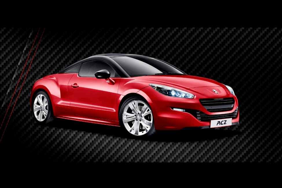la peugeot rcz red carbon s rie limit e 300 unit s one auto. Black Bedroom Furniture Sets. Home Design Ideas
