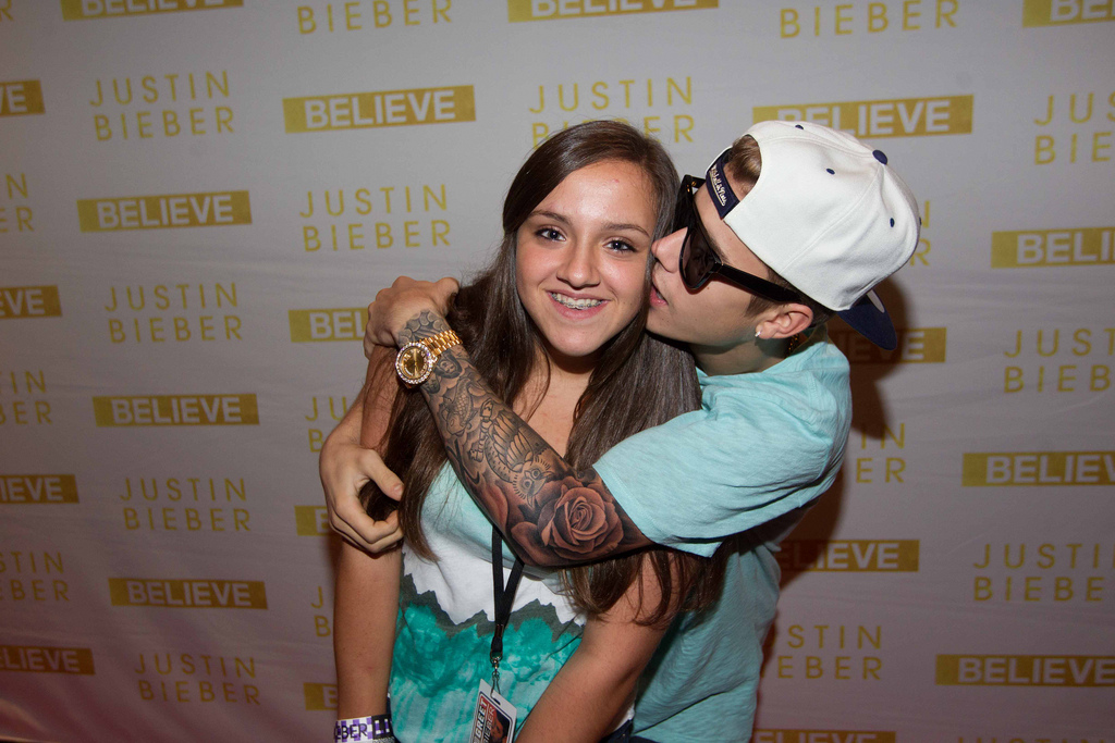 justin bieber meet and greet in nyc