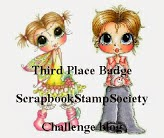 3rd Place at Scrapbook Stamp Society