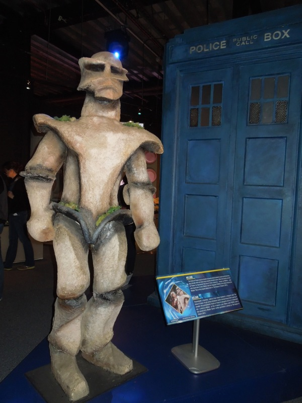 Melkur statue Doctor Who 1981