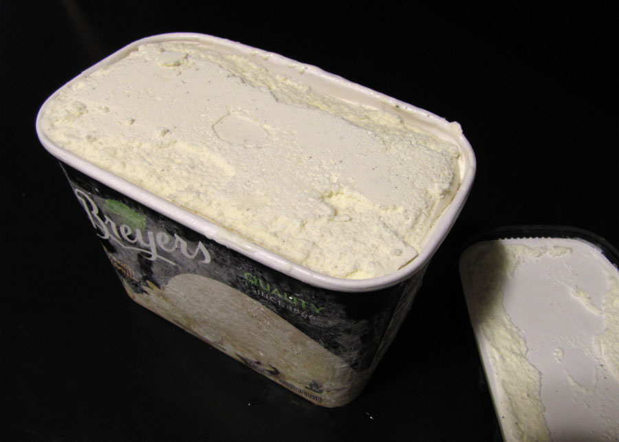Breyers French vanilla ice cream available in the freezer section of ...