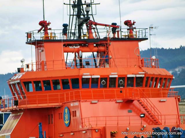 fotos de barcos, imagenes de barcos, don inda, salvamento maritimo, buque polivalente, vigo, sasemar