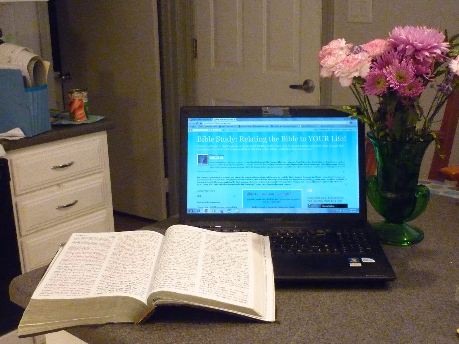 Bible Study: Relating the Bible to YOUR Life! Link