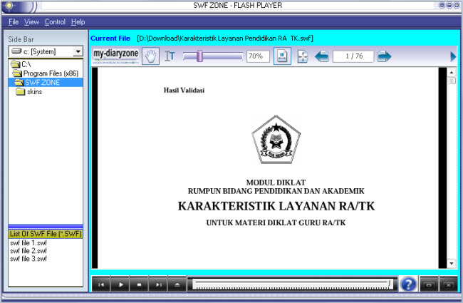 swf info: paud, free download ebook swf, pendidikan paud, anak-anak, ra, tk, raudhatul athfal, taman kanak-kanak