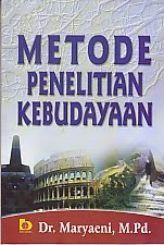 toko buku rahma: buku METODE PENELITIAN KEBUDAYAAN, pengarang maryaeni, penerbit bumi aksara