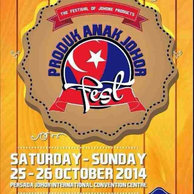 Produk anak Johor Fest