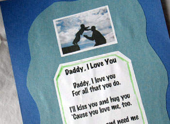 Valentine's Day Dad Poems