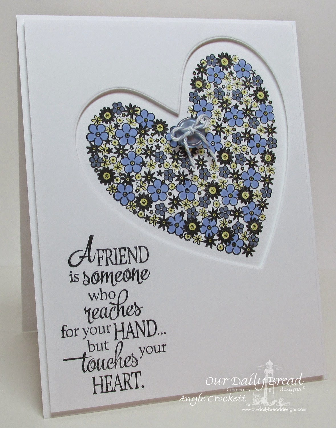 ODBD Quote Collection 4, Clean Heart, ODBD Custom Ornate Hearts Die Set, Card Designer Angie Crockett