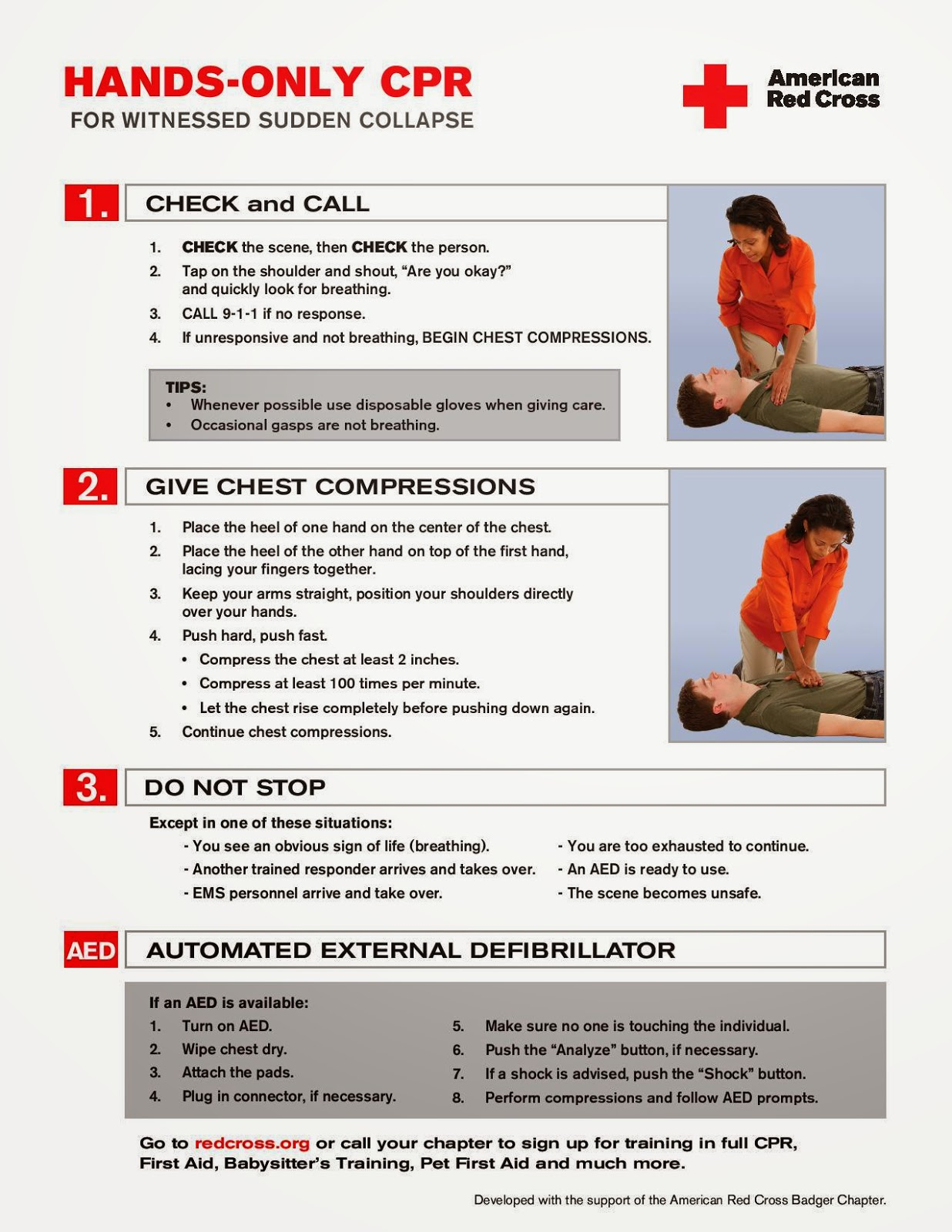 American Red Cross Hands-Only CPR