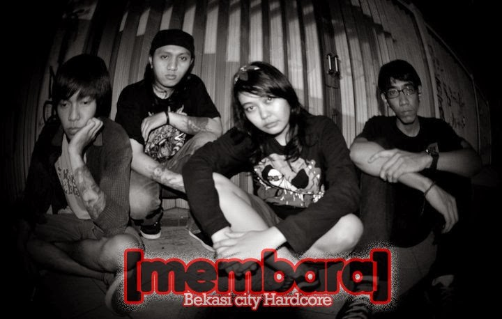 Membara Band Hardcore Bekasi Female Vocal Foto Personil Logo Wallpaper