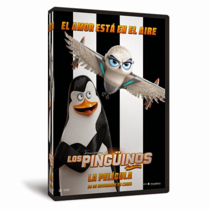 Los Pingüinos de Madagascar [2014]