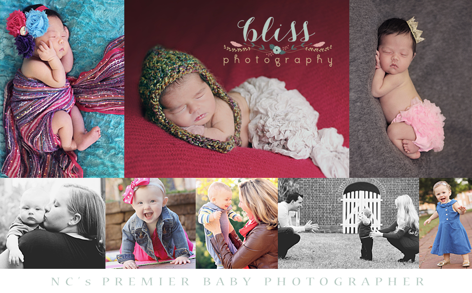 Bliss Photography - NC Portrait Photographer for Newborn, Baby, Child, and Family