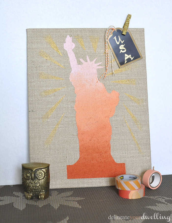 Lady Liberty, Summer Blog Hop - Delineate Your Dwelling #July4th #LadyLiberty #StatueofLiberty