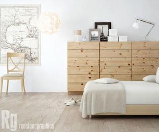 cozy scandinavian bedrooms 7 554x460 Dekorasi kamar tidur untuk cuaca dingin