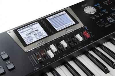 keyboard roland bk9