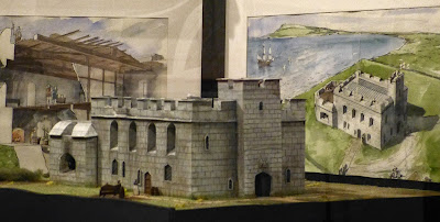 Model of Sandsfoot Castle in Weymouth Museum