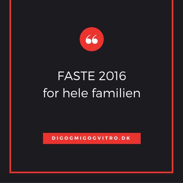Faste 2016