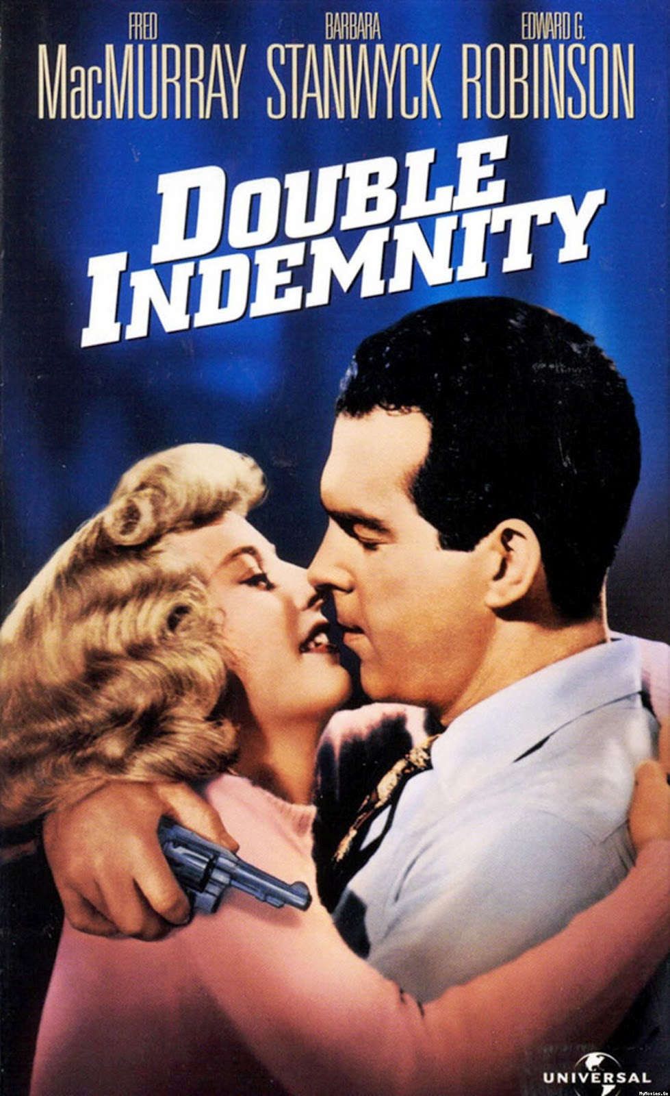 double indemnity love of manipulation or In double indemnity, however, as in murder, my sweet, all the characters are more or less ignoble love passed there as the mirage of a better world.