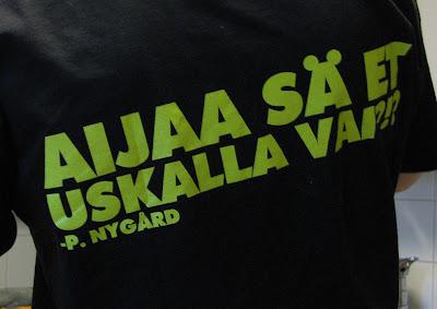P. Nygård paita