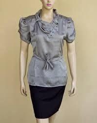 KUMPULAN GAMBAR BAJU KERJA TREND TERBARU Foto Model Baju Kerja Wanita Unik