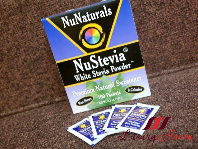 nustevia white stevia powder review