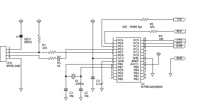 membuat usb to serial ttl converter